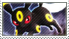 Pkmn Umbreon Stamp by vanilla-dog