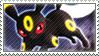Pkmn Umbreon Stamp by vanilla-dog