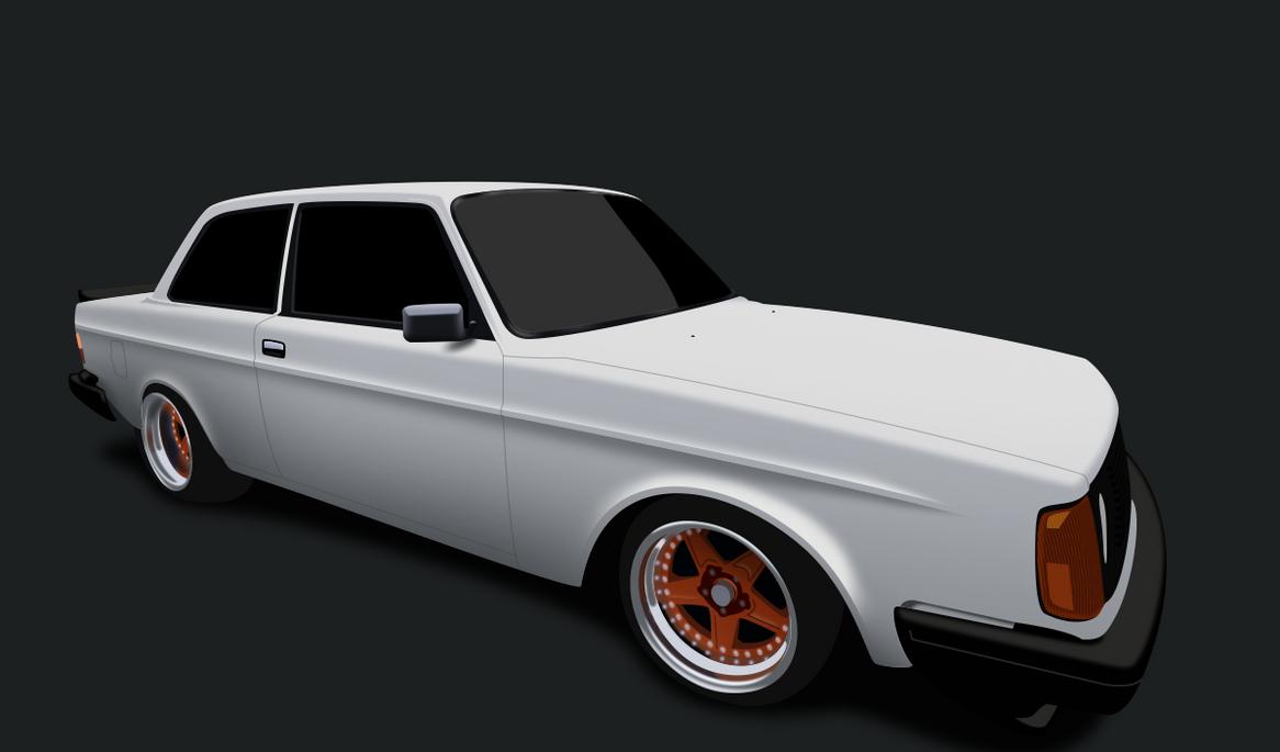 Volvo 240GL by IMABO