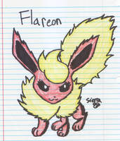 Finished Flareon by Ask-Aura
