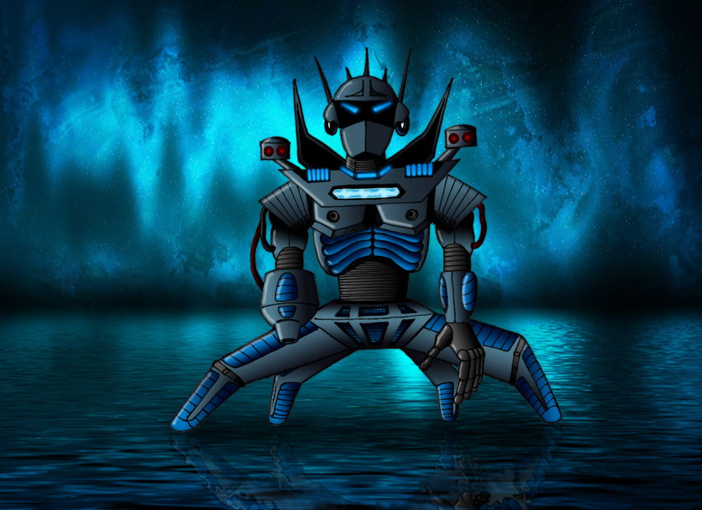 Deep Blue Bot by oo7genie