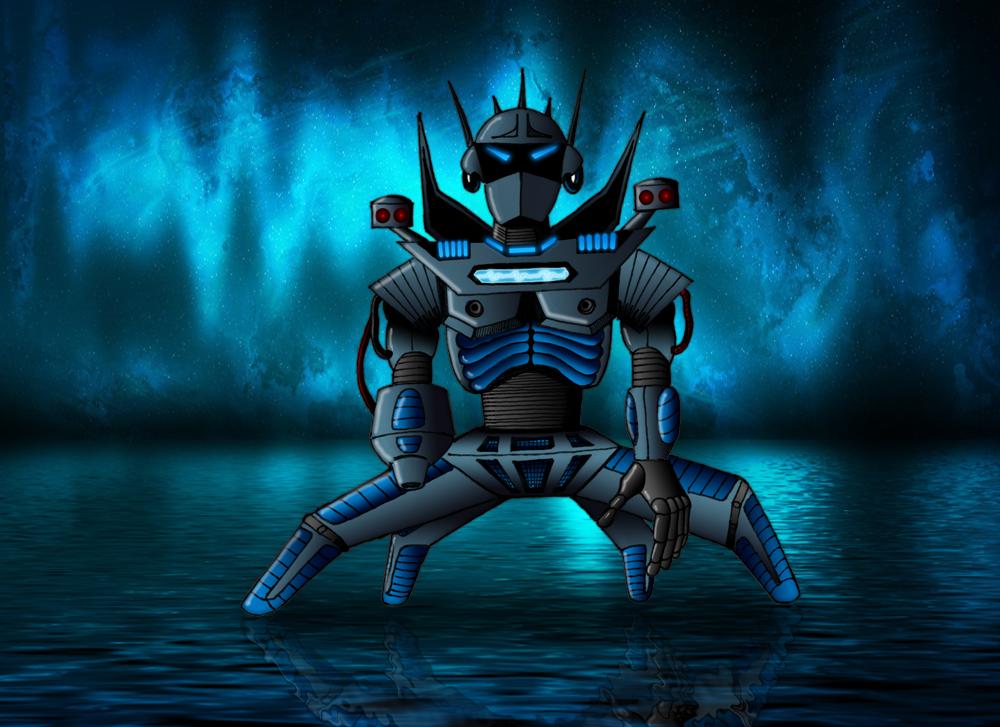 Deep Blue Bot by oo7genie