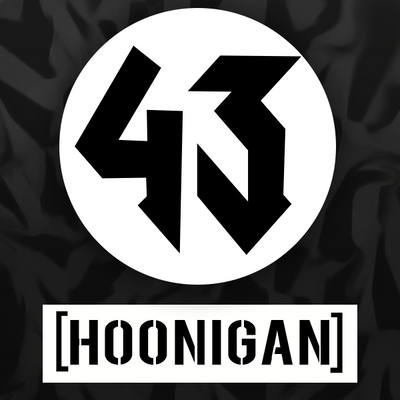 Hoonigan Mustang Stickers