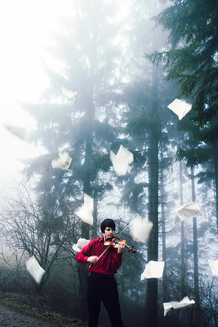 The Violinist II by GretaTu