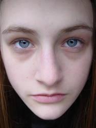 plain face by PorcelainStock