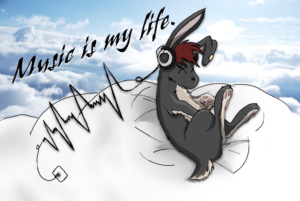 Music is my life by KiKiArekkusu