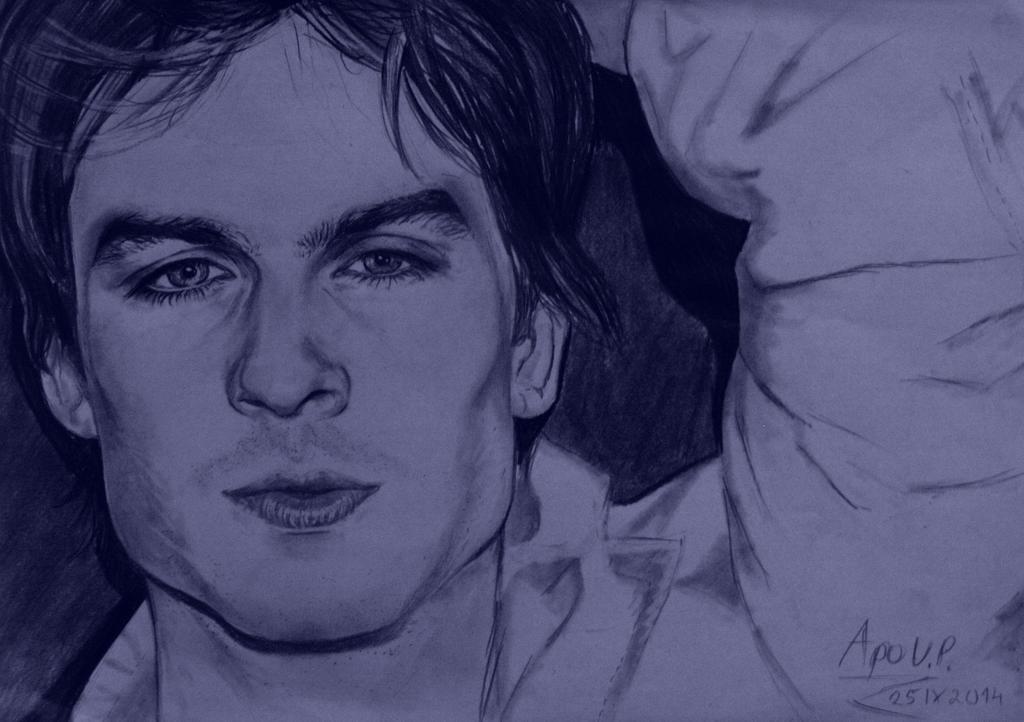 Ian Somerhalder (Damon from The Vampire Diaries) by MikkoChan