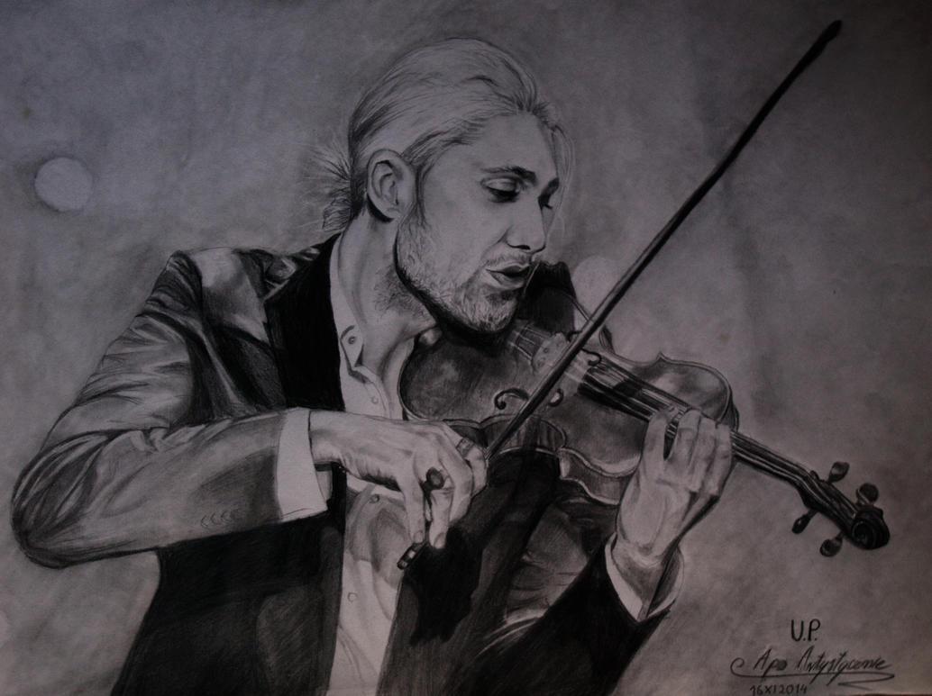 David Garrett's portrait by MikkoChan