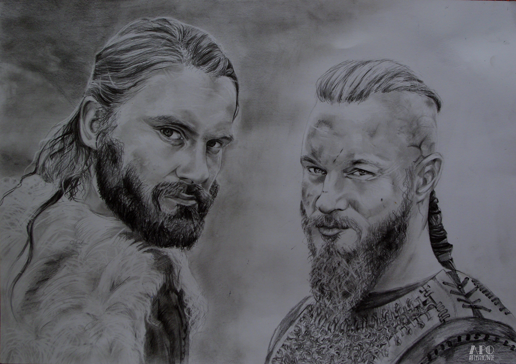 Rollo and Ragnar by MikkoChan