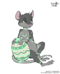 Easter badge Simon by DekabristMouse