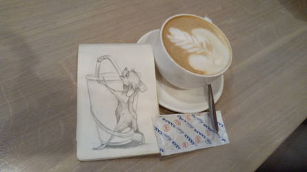 Coffee with a sketch one