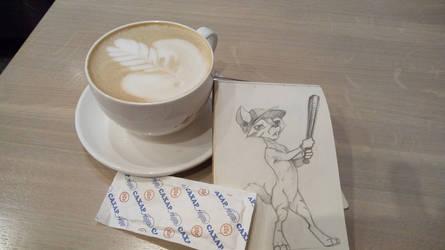 Coffee art second