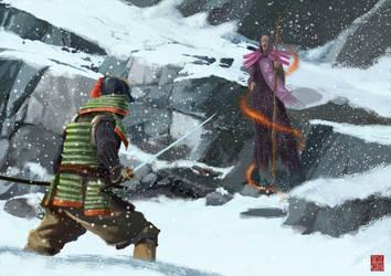 Samurai Spirit 03 by IttoOgamy