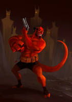 Hellboy03 by IttoOgamy