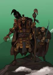 Warriors by IttoOgamy