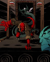 Hellboy 04 by IttoOgamy