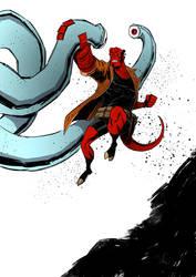 Hellboy005 by IttoOgamy