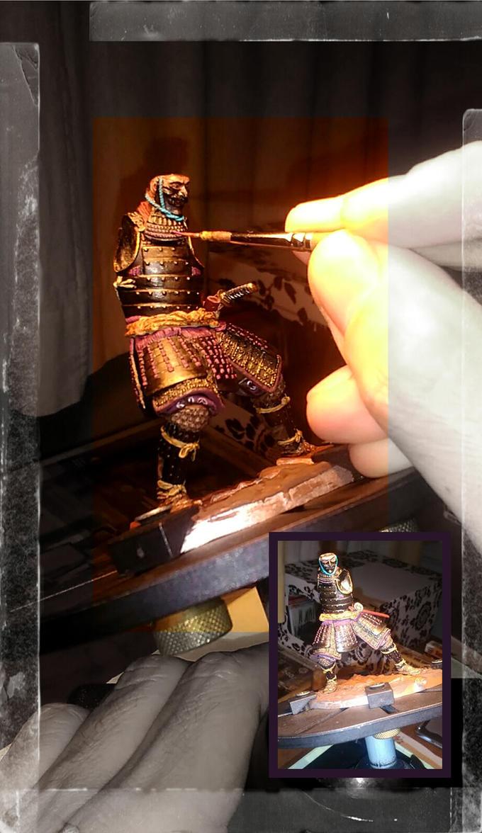 Samurai(pegaso models) WIP by IttoOgamy