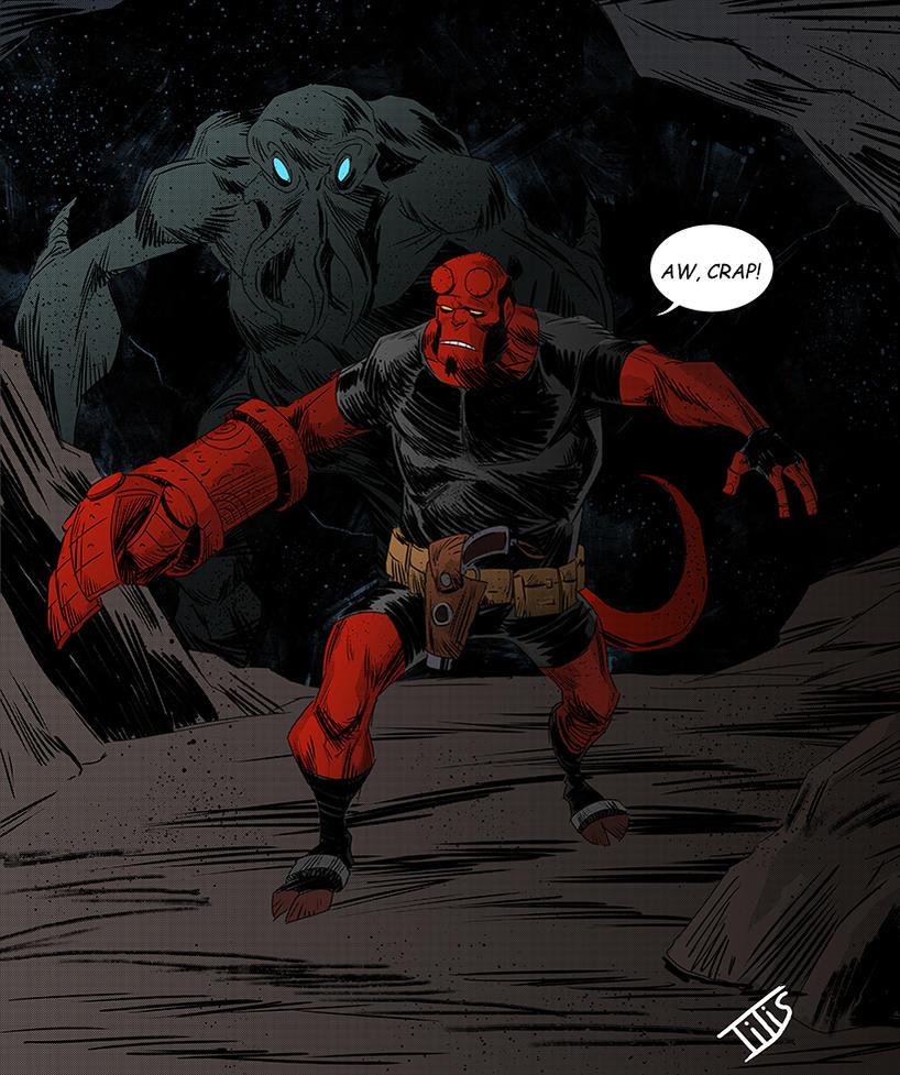 Hellboy...08 by IttoOgamy