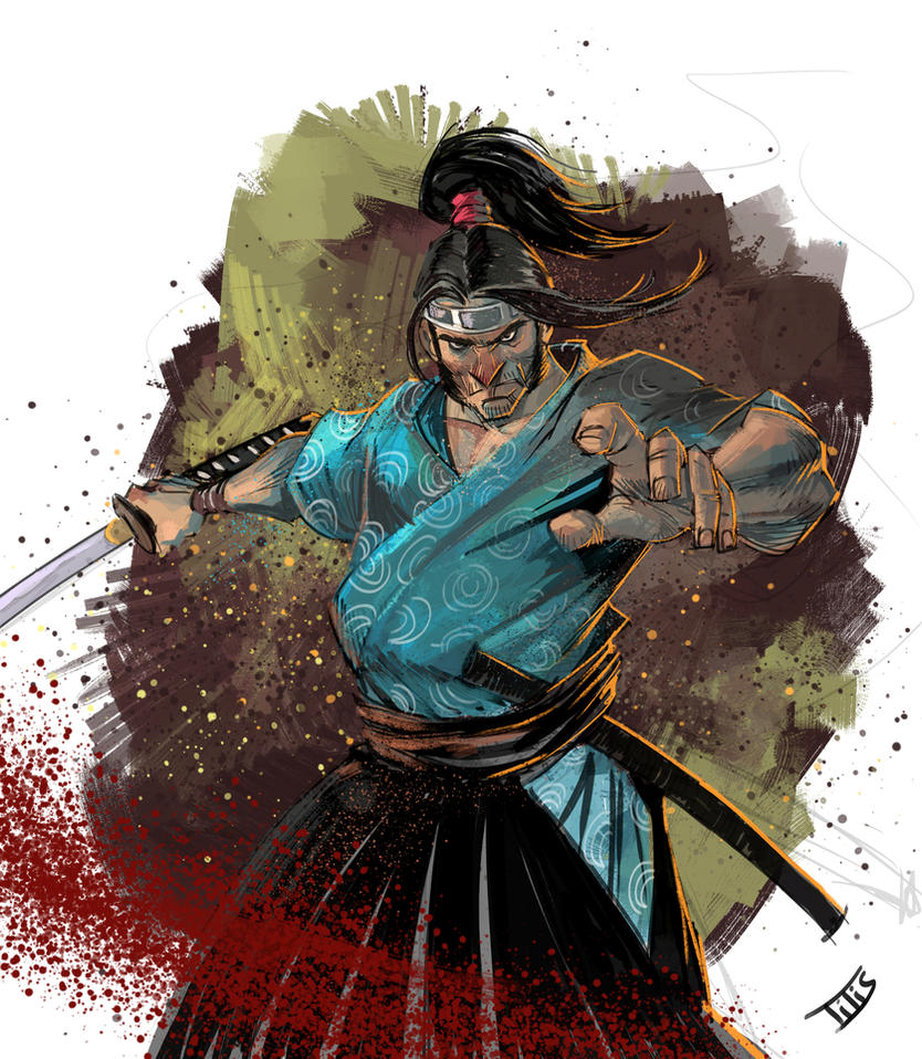 Samurai... by IttoOgamy