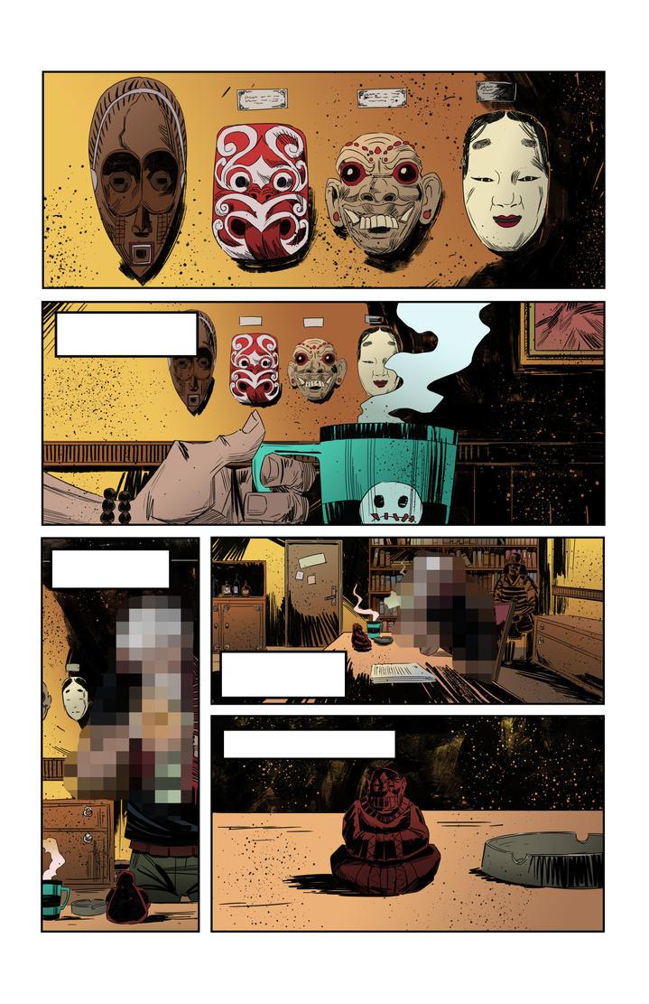 Sneak peek of my new comics project by IttoOgamy