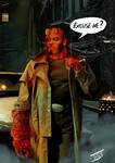 Hellboy...Excuse me?
