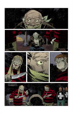 Sneak peek of my new comics project 6