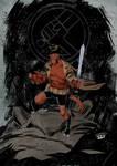 Hellboy ...B.P.R.D by IttoOgamy