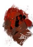 Fast color sketch Hellboy...