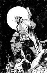 Another Hellboy commission by IttoOgamy