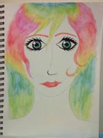 Rainbow Girl by warrior-princess46