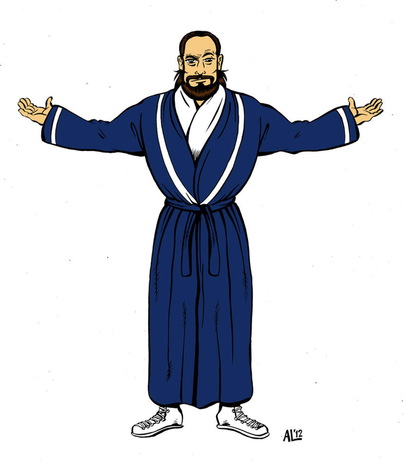 Damien Sandow by Alec-Lewellyn