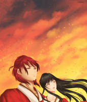 Kouen and Kayami by Envy20