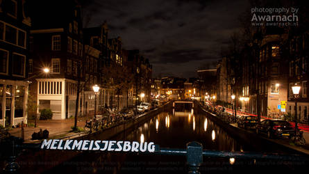 Amsterdam by Night X by Awarnach