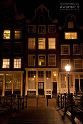 Amsterdam by night VI by Awarnach