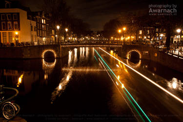 Amsterdam by Night IX by Awarnach