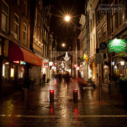 Amsterdam by night III by Awarnach