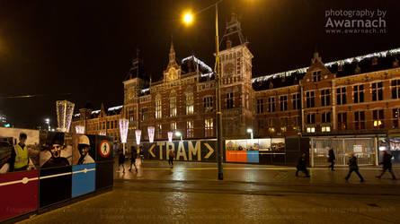 Amsterdam by night I by Awarnach
