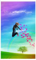 life in rainbow by yearry