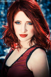 Red and Blue by SusanCoffey