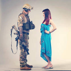 Combat Flip Flops by SusanCoffey
