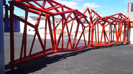 Gate  Pawel Guba www.globalmetalart.pl,www.pawelgu by globalmetalart
