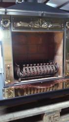 Fireplace. Pawel Guba. Globalmetalart by globalmetalart