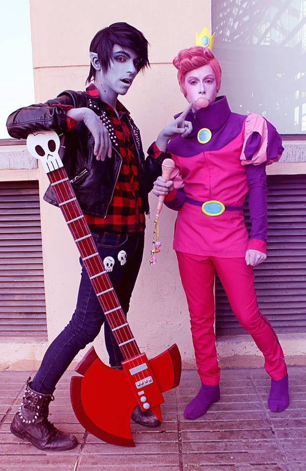 Marshall Lee X Prince Gumball Adventure Time By