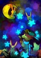 +Night sky+