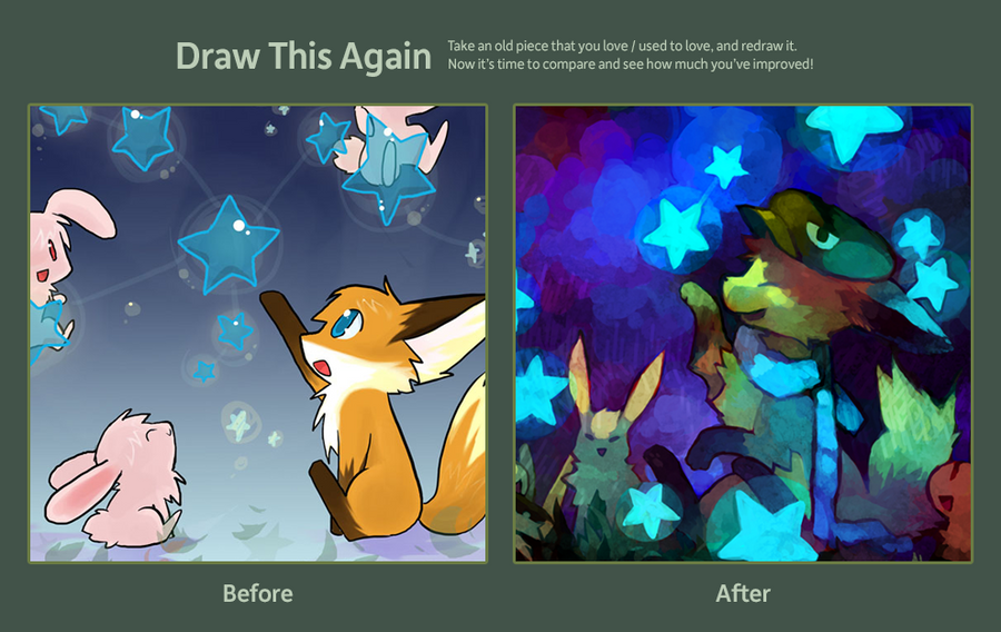Draw This Again +Night Sky+ by Cocoroll