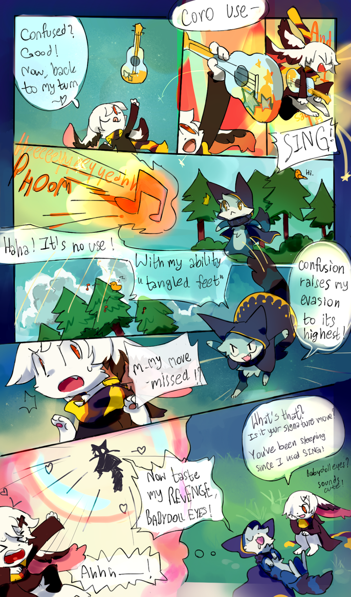 Cutie Battle Pg4 by Cocoroll