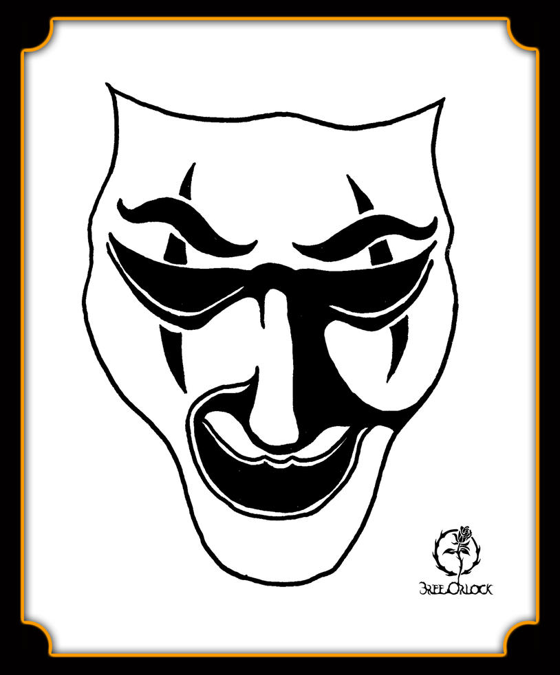 Comedy Mask by GothicPrincess1974 on DeviantArt