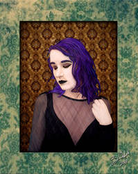 Portrait of Aly Issabelle by GothicPrincess1974