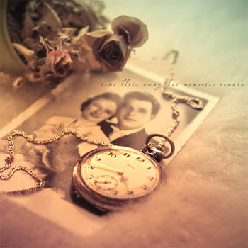 time flies away, but memories remain by piximi